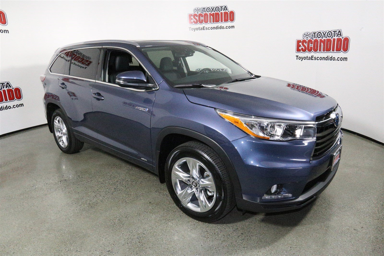 new 2016 toyota highlander hybrid limited platinum sport utility in escondido 1013379 toyota. Black Bedroom Furniture Sets. Home Design Ideas