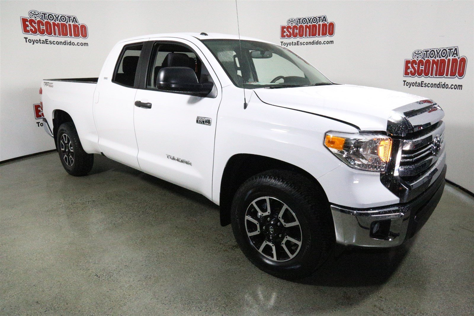 new 2017 toyota tundra 2wd sr5 double cab pickup in escondido hx217534 toyota of escondido. Black Bedroom Furniture Sets. Home Design Ideas