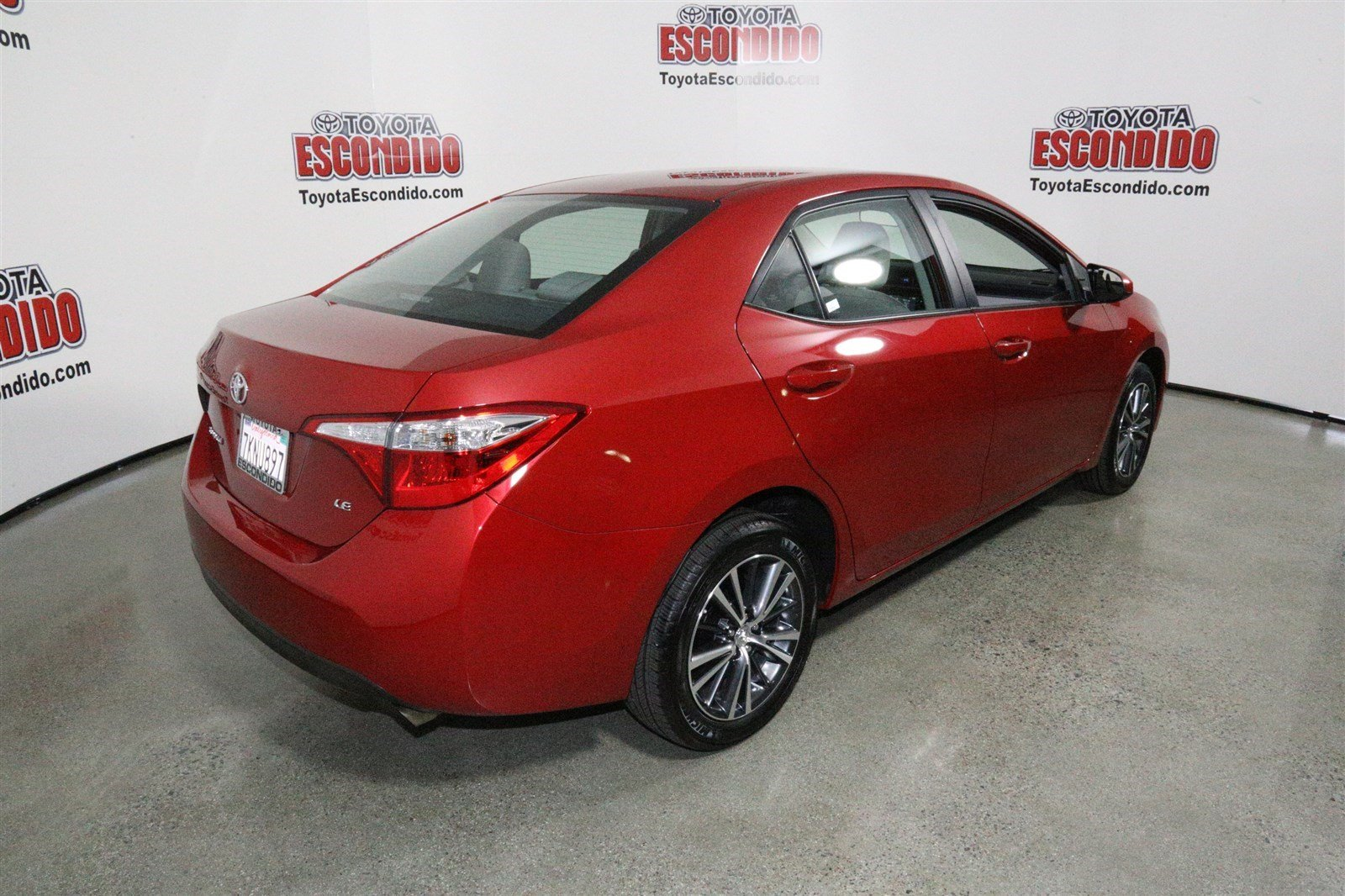 certified pre owned 2016 toyota corolla le plus 4dr car in escondido 59348 toyota of escondido. Black Bedroom Furniture Sets. Home Design Ideas