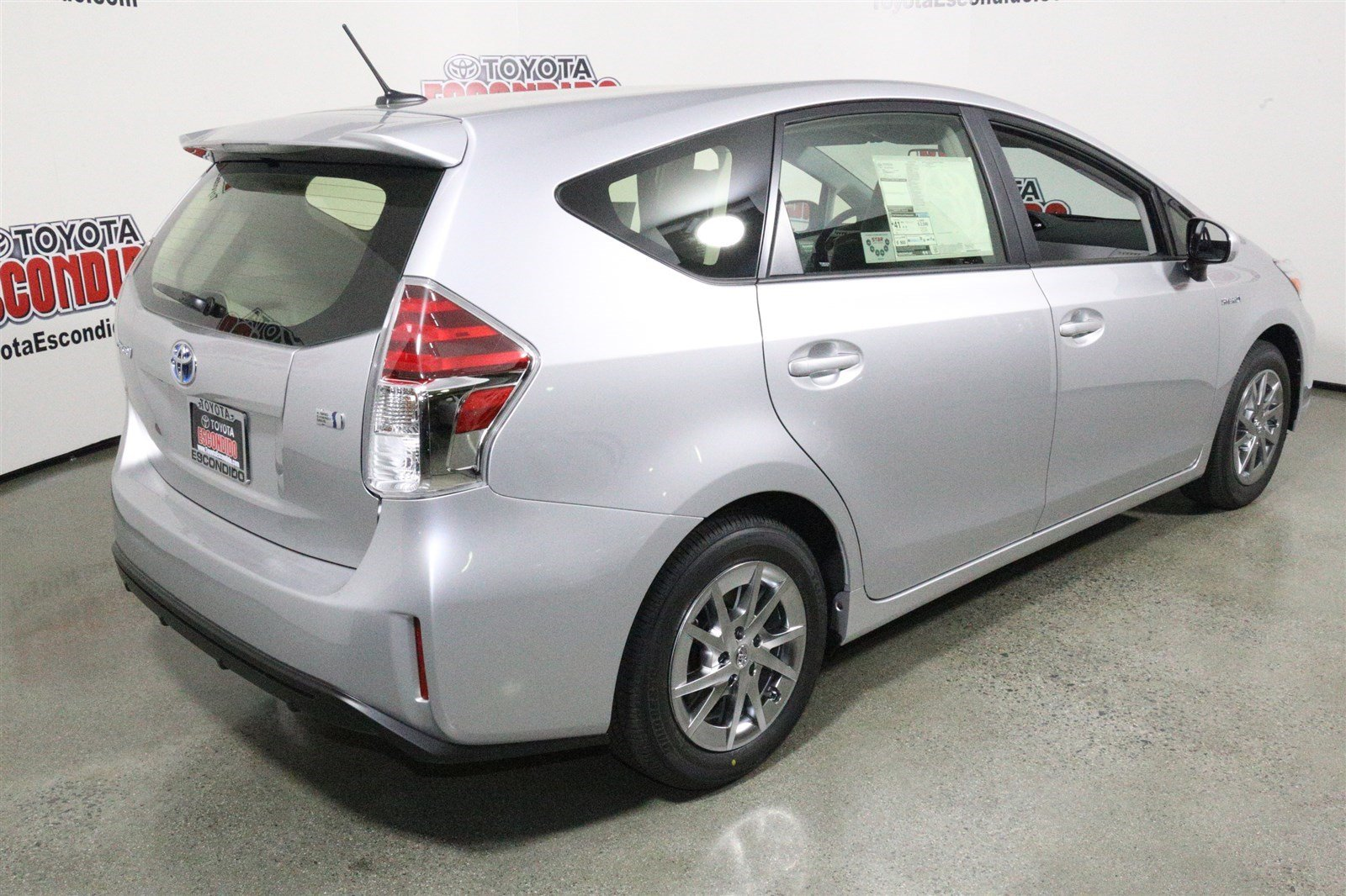 new 2017 toyota prius v four station wagon in escondido 1013782 toyota of escondido. Black Bedroom Furniture Sets. Home Design Ideas