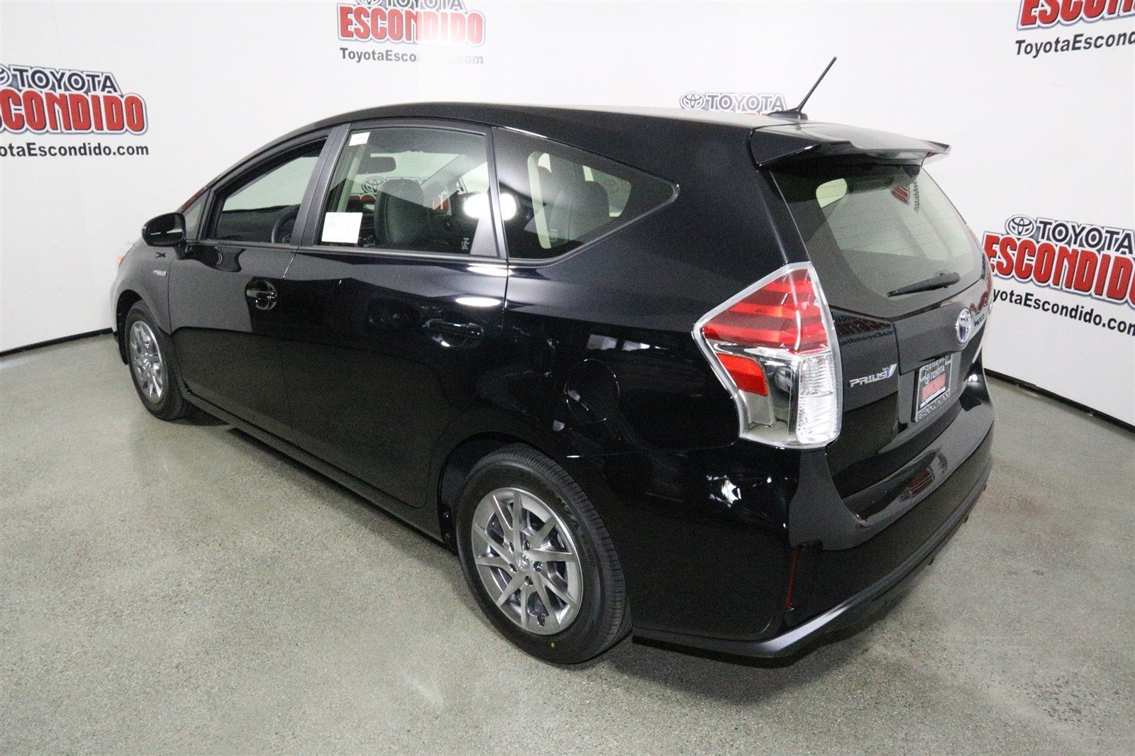 new 2017 toyota prius v four station wagon in escondido hj063364 toyota of escondido. Black Bedroom Furniture Sets. Home Design Ideas